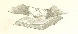 Freemasons handshake