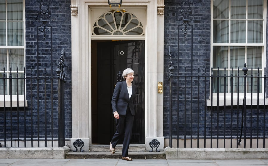 Theresa May - Soon to be leaving Number 10 for the last time, or staying the course?
