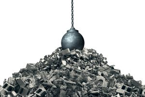 Don't take a wrecking ball to your business legacy